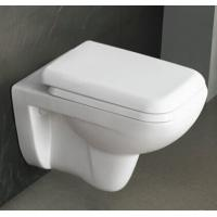 Best Sanitary Ware Toilets Ceramic Washdown P-trap 180mm Roughing-in Bathroom Wall-hung Toilet wholesale