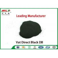 Best Vat Direct Black DB Textile Cotton Fabric Dye Chemicals Used In Textile Dyeing wholesale