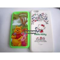 Best Custom made Iphone6, Iphone6 plus silicone case with full color printing wholesale