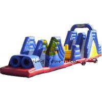 Best Giant Advertising Inflatable Obstacle Course Custom For Children wholesale