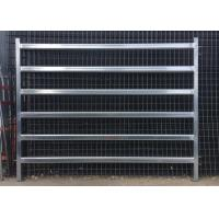 Best Galvanized Square Tube Livestock Fence Panel With 40X40MM For 1.5MM thickness Used in New Zealand wholesale