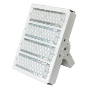 Best White Housing Modular Design Exterior Led Flood Lights For Stadium 100w-500 High Efficiency 160lm/W wholesale