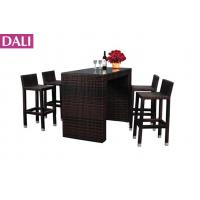 bar stool sets modern rattan bar stool furniture dining set used for