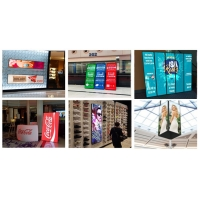 USB 4G Wifi Control Indoor LED Poster Portable Advertising LED Poster Mirror Display 3