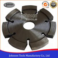 China GB 105mm Laser Welded Tuck Point Diamond Blades For Hard Material Cutting on sale