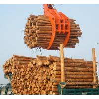 Cheap Powerful Excavator Grab Attachment Hydraulic Timber Grab / Excavators Wood Grapple wholesale