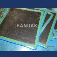 V-quality Rhomboid Patch with bonding layer