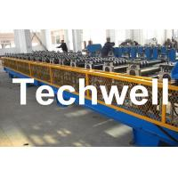 Best 7.5KW High Speed Double Deck / Layer Roll Forming Machine With Automatic Hydraulic Cutting wholesale