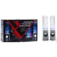 Best colorful lighting LED USB water dancing speakers with normal box package wholesale