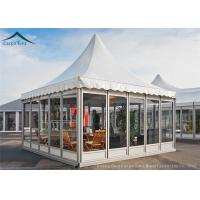 Best European Aluminum Pagoda Tents With Glass Wall For Outdoor Event wholesale