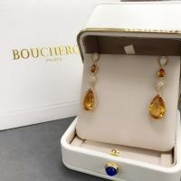 Best 18K Yellow Gold  Serpent Boheme Earrings With Topaz Crystals And Diamonds wholesale