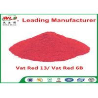 Best Indigo Clothes Dye C I Vat Red 13 Vat Dyes Red 6B Not Dissolved In Water wholesale
