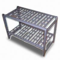 Best Two-tier Extendable Plastic Rack with Slot-together Frame, Easy to Assemble wholesale