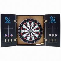 Best Paper Dart Board with MDF Cabinet, OEM Orders are Welcome wholesale