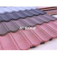 Best Wholesale colorful stone coated Alu-Zinc Steel roof tile,bad weather protect stone coated steel roofing tiles wholesale