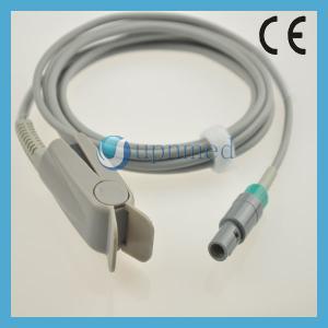 Cheap Comen C60/C80 Oximax Pediatric finger clip spo2 sensor,8pin 40 degree;3M;TPU for sale