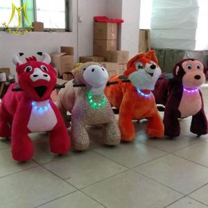 Best Hansel  battery power indoor amusement park rides stuffed animal electric ride wholesale