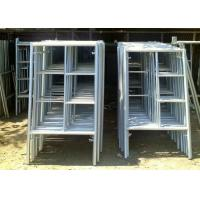 Quality Portable Frame Scaffolding System , Light Weight Aluminium Mobile Scaffold wholesale