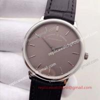 Best Swiss A. Lange Sohne Saxonia Stainless Steel Case Grey Dial Mens Watches wholesale