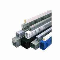Buy cheap OEM Flame - retardant eco friendly  pvc cable tie channel , metal cable duct for floor ducting from wholesalers
