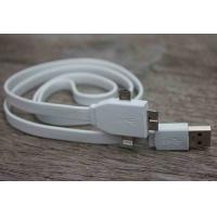 Best Flat Noodle Micro USB Sync Cable / 3 In 1 Usb Charging Cable for Samsung Note 3 wholesale