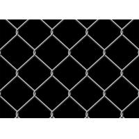 Best 6 Foot Chain Link Fence 9 Gauge Square Unit Used For Garden Anti Rust / Corrosion wholesale