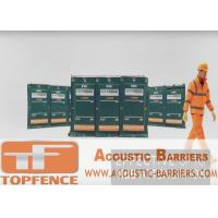 Best Temporary Sound Barriers Fence  4 layers design non flammable layer and waterproof 40dB wholesale