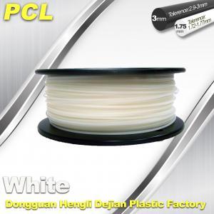 Best Low Temperature Filament , PCL fFilament , 0.5kg/ roll ,1.75 /3.0mm. wholesale