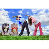 Best Portable Suitcase Kids Hard Shell Luggage Lightweight Rolling Backpack wholesale