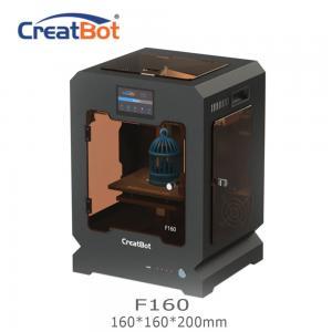 Best Metal Frame Creatbot F160 Peek 3d Printter Single Extruder 3d Printer 160*160*200mm wholesale