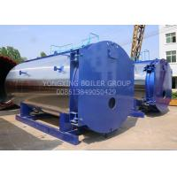 Cheap WNS15ton 1.25Mpa New Design Low-nitrogen Condensing Gas Fired Steam Boiler For Industrial for sale