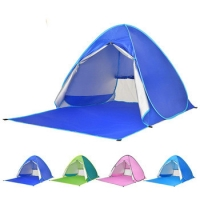 Best Windproof Silver Coated 190T Beach Sun Shade Tent wholesale
