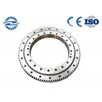 Best Single Row Four Point Contact Ball Slewing Bearing External Gear For Axial Load CRB3010 wholesale
