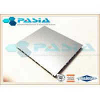 Best Fireproof Lightweight Metal Panels , Honeycomb Steel Plate Anti Pollution wholesale