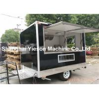 Cheap Black Car Paint Street Fryer Food Mobile Coffee Cart CE Approved wholesale