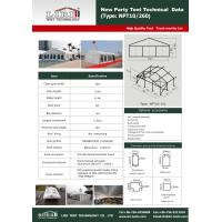 Buy cheap Tent manufacturer New Party Tent 10×12m with PVC material aluminium from wholesalers