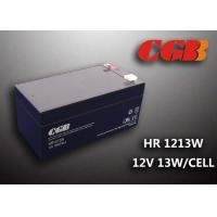 Best HR1213W 12V 3.5AH High Rate Discharge Battery , Security Long Life Lead Acid Battery Rechargeable wholesale