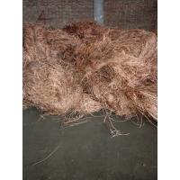supply copper wire scarps in high purity min purity is 99.95% shining brass