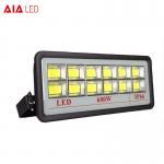 Best Aluminum waterproof IP66 big size led flood light COB 600W LED Flood lighting for project wholesale