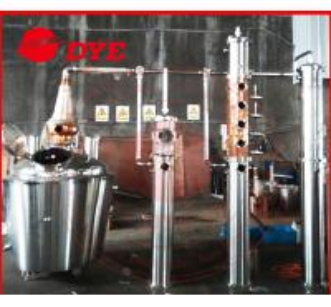 Best 1300L Whisky / Brandy Copper Distillation Column , Vodka Distillation Kit wholesale