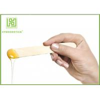 Best Portable Wooden Waxing Spatulas Hair Removal Stick Environmentally Friendly wholesale