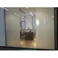 Intelligent glass, smart glass with low haze, high transparency  for door design