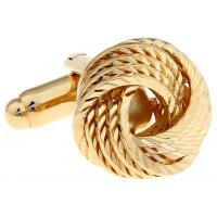 China Three Circles Round Vintage Mens Cufflinks Gold Plated Luxury Novelty Storage Suit Shirt Type on sale