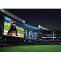 Quality P8 HD Advertising Outdoor Full Color LED Display  For Football Games wholesale
