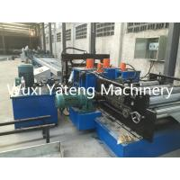 Quality 8 - 15m / Min Speed Shutter Door Roll Forming Machine 11KW Hydraulic Cutting Power wholesale