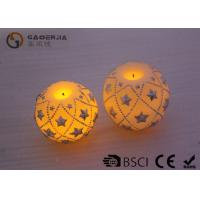 Best Eco Friendly Round Led Candles , Holiday Led Candles Star Shape wholesale