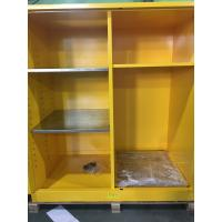 Best Flammable Goods Storage Cabinets With Earthing Socket For Combustible Liquid / Paint wholesale