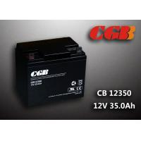 Best Sealed AGM Lead Acid Battery 12V 35AH CB12350 Solar Wind Elcectricity Supply wholesale