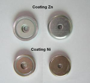Best Electric Neodymium Motor Permanent Magnets with Zinc / Nickel Coating wholesale