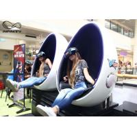 Best Infinity 9D 720 Virtual Reality Equipment VR Egg Chair 2 Seats For Game Zone wholesale